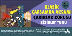 Klasik Çarşamba Akşamı Bisiklet Turu