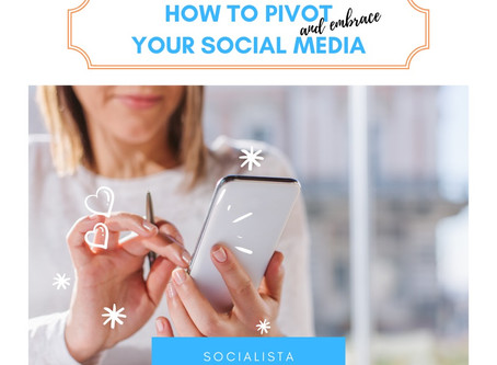 How to Pivot Your Social Media Content