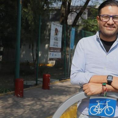 PUEBLA TENDRÁ EL BICIESTACIONAMIENTO MÁS GRANDE DEL PAÍS: EDUARDO COVIÁN (SEMOVI)