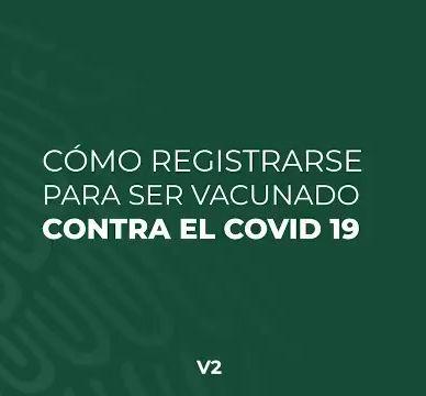 INICIA REGISTRO DE ADULTOS MAYORES PARA RECIBIR VACUNA VS COVID19.