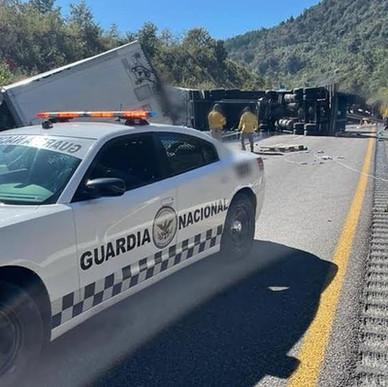 FUERTE ACCIDENTE EN LA CARRETERA PUEBLA-VERACRUZ.