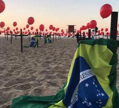 BRASIL CONFIRMA NUEVA VARIANTE DE CORONAVIRUS.
