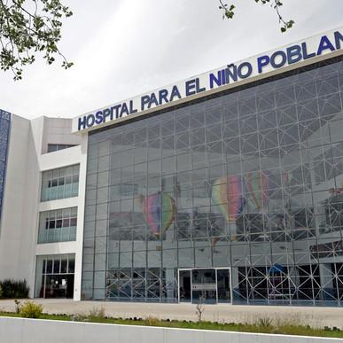 11 NIÑOS HAN FALLECIDO POR COVID19 EN EL HOSPITAL DEL NIÑO POBLANO.