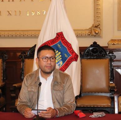 DISMINUYE MOVILIDAD EN CENTRO HISTÓRICO DE PUEBLA: EDUARDO COVIÁN (SEMOVI)
