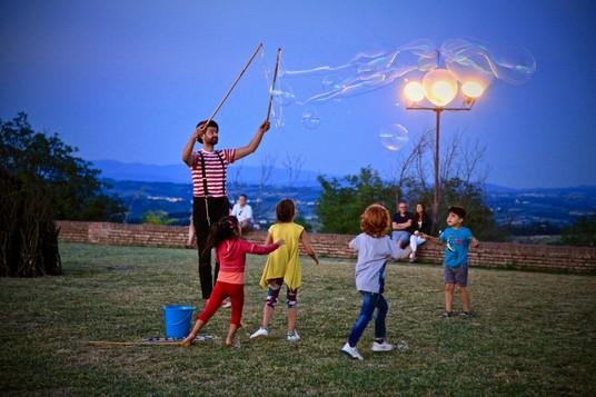 la magia delle bolle