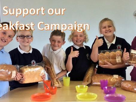 Big Give Big School Breakfast Campaign
