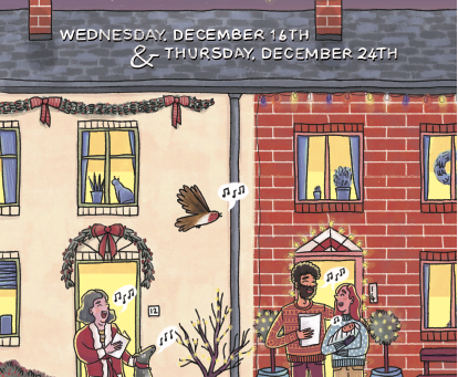 Take part in Carols on the Doorstep