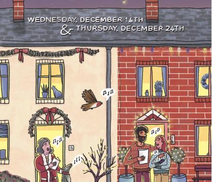 Take part in Carols on the Doorstep