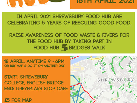 #FoodHub5 Bridges Walk