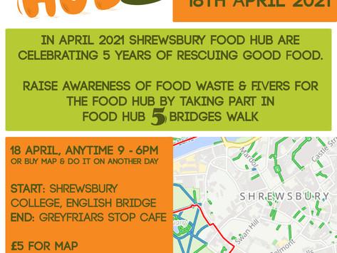 #FoodHub5 Bridges Walk