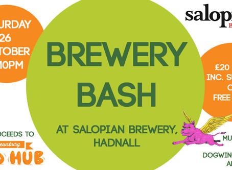 Upcoming Brewery Bash Fundraiser