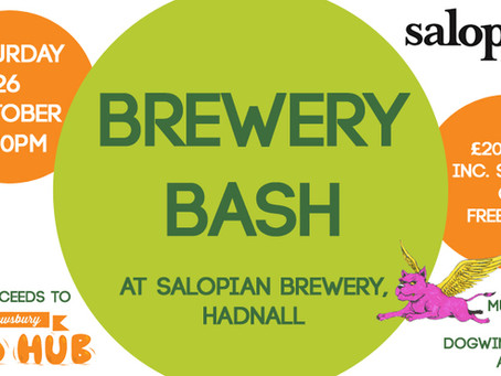 Upcoming Brewery Bash Fundraiser