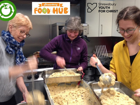 Cooking up community meals for Shrewsbury