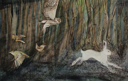 the wild swans | through the woods...