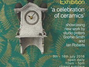 SUMMER EXHIBITION: a celebration of ceramics