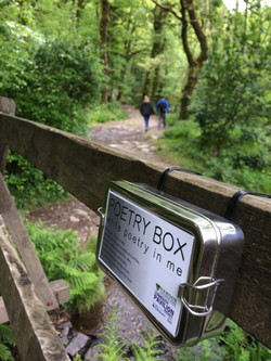 Poetry Boxes Tarr Steps
