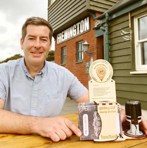 Paul at The Fremington Quay Cafe