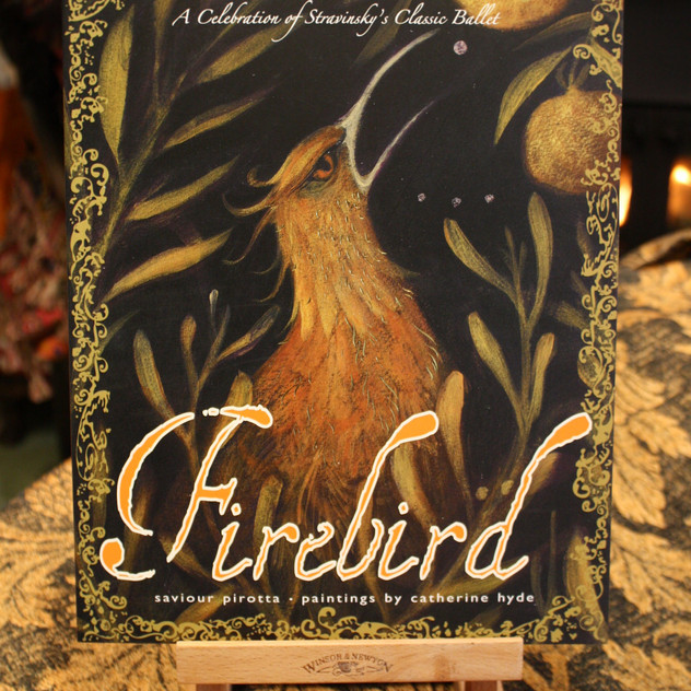 Signed copies of the Firebird