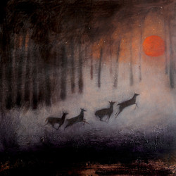 the running of the deer
