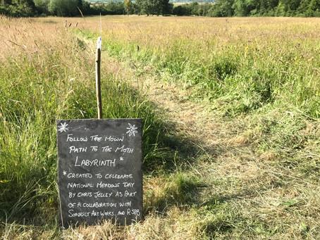 Moth Meadow Labyrinth