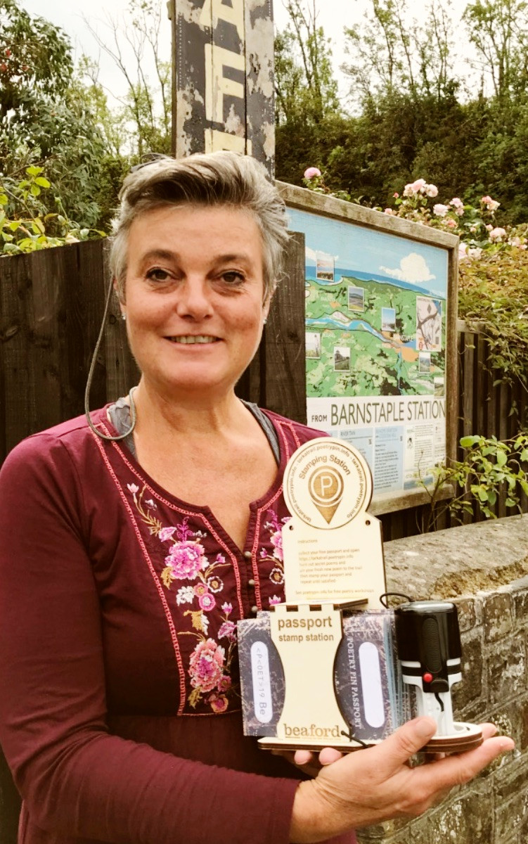 Phoebe of the Station Masters Cafe – Barnstaple