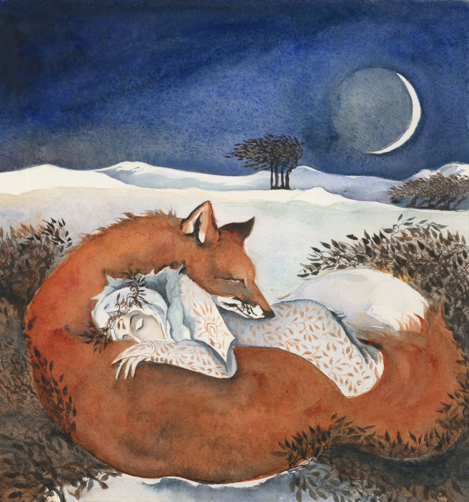 the winter queen and her fox lover
