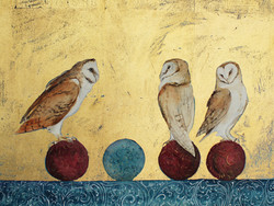 Three Owls Four Balls