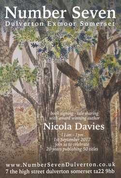Nicola Davies to visit