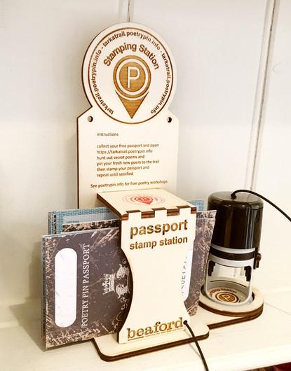 Passport Stamping Station