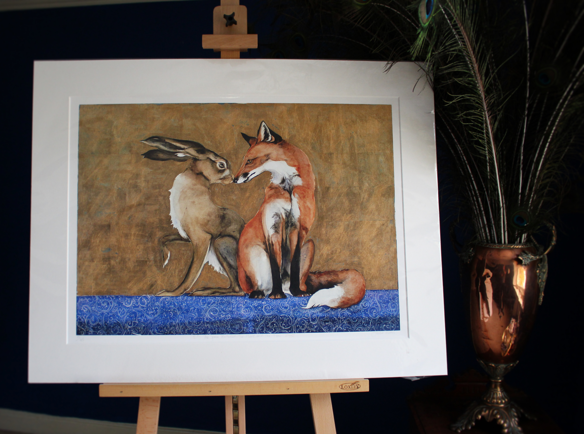 the space between the fox & the hare