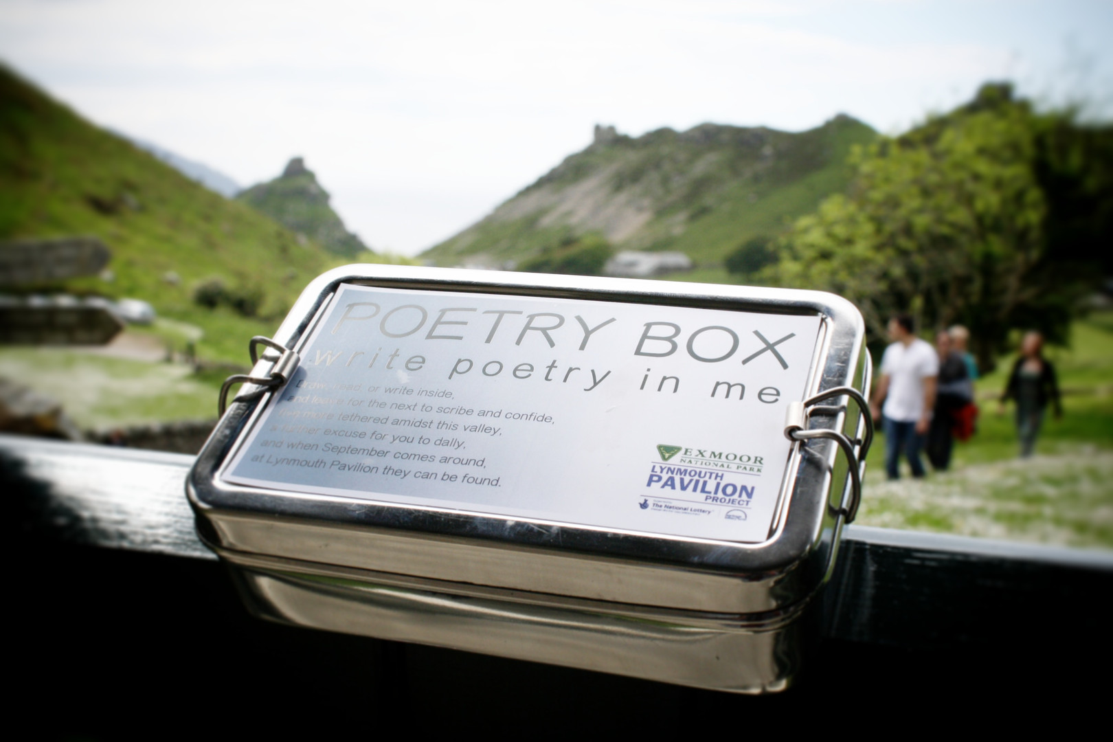 Poetry Box Valley of Rocks