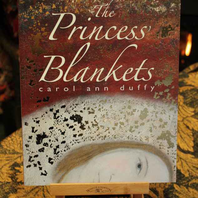 Signed copies of The Princess' Blankets
