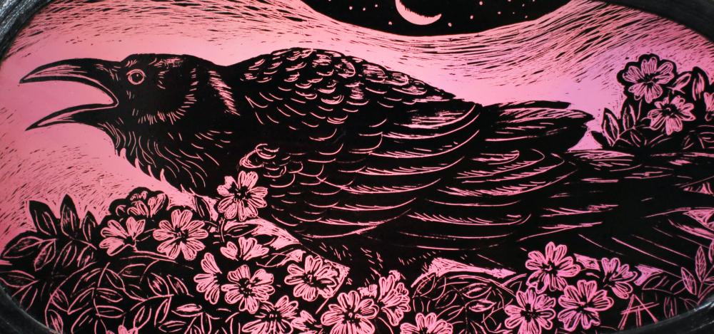 TA Briar Raven detail 160 numbersevendul