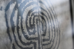 silver labyrinth zoom detail JM numberse