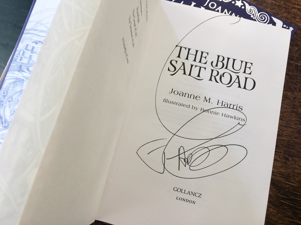 the blue salt road signed numbersevendul