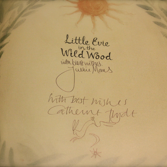 Signed copies of Little Evie