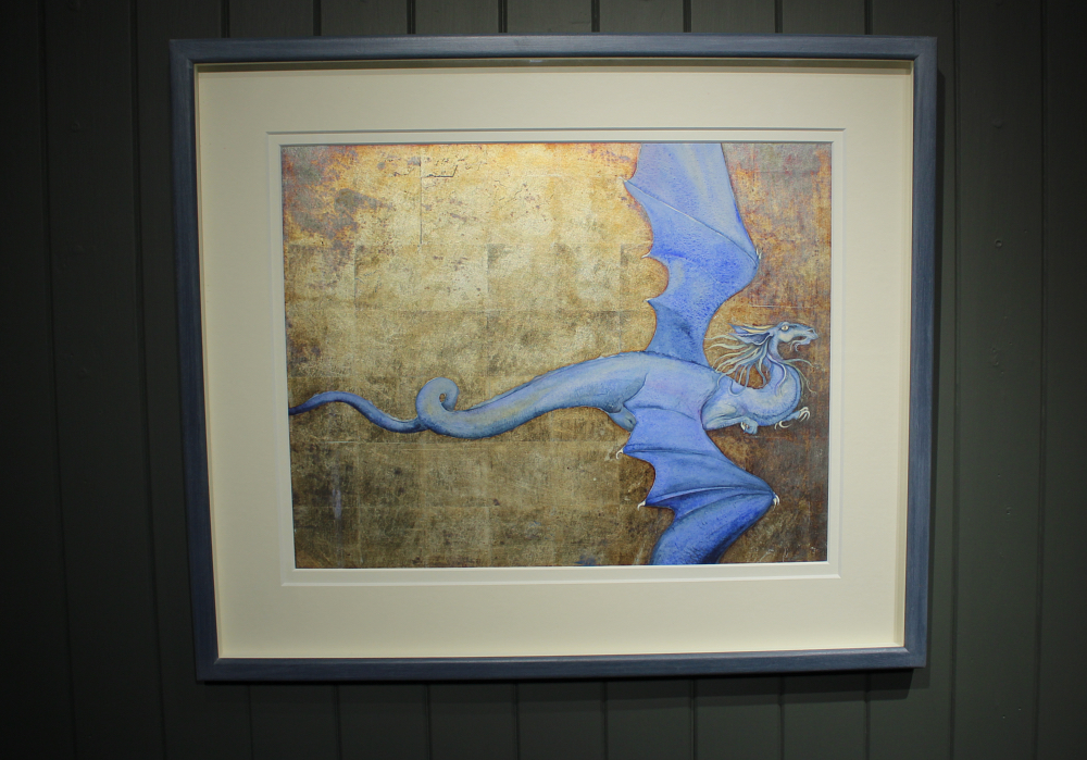 blue dragon | robin hobb