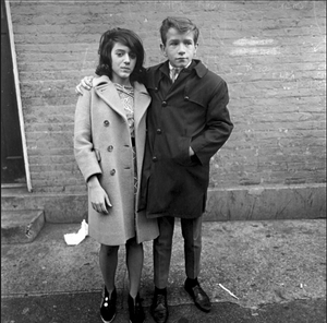 Diane Arbus , Teenage Couple on Hudson Street, NYC , 1963
