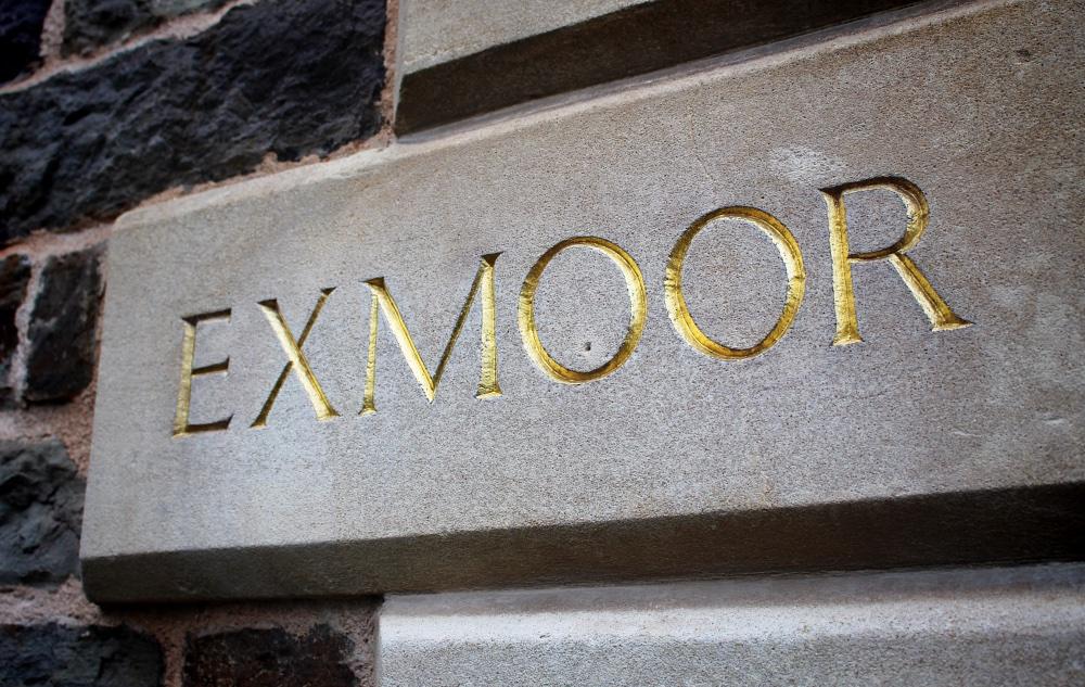 golden Exmoor numbersevendulverton