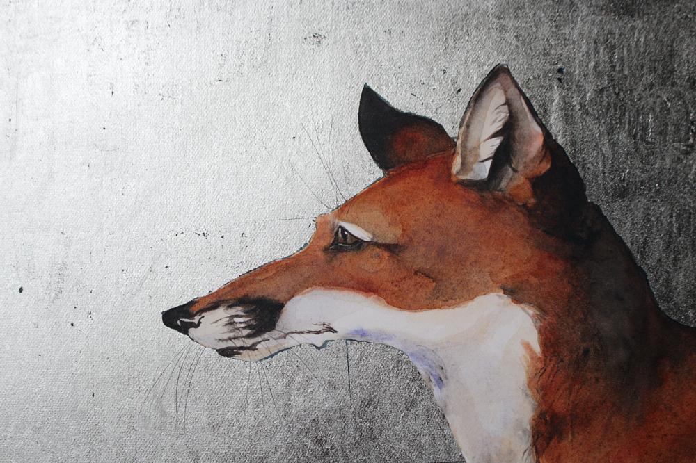 JM fox on branch detail sevenfablesdulve