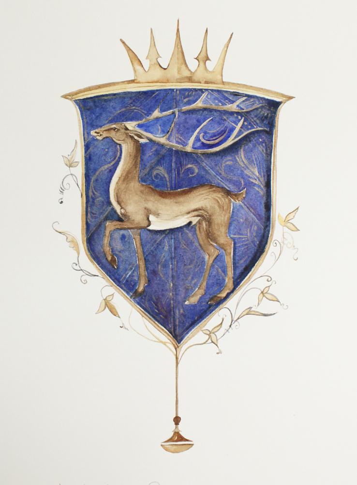 blue stag | robin hobb