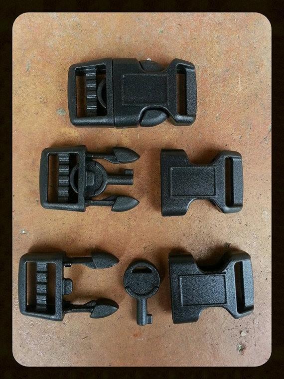 handcuff key paracord buckles