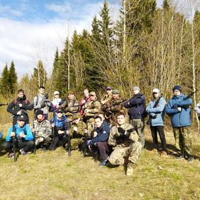 Военно-полевые сборы для молодежи Ханты-Мансийска
