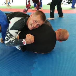 Тренировка с мастерами джиу-джитсу в г. Ханты-Мансийске