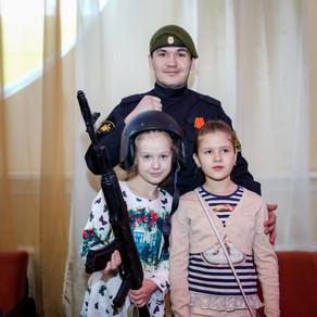 В театре кукол «Барабашка» прошел праздник День защитников Отечества!