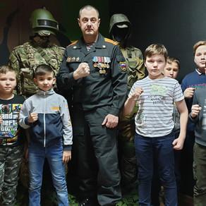 """Экскурсия для """"Юных спецназовцев"""" в наш музей"""