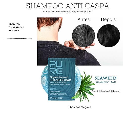 Shampoo Orgânico Anti-Caspa de Algas Marinhas