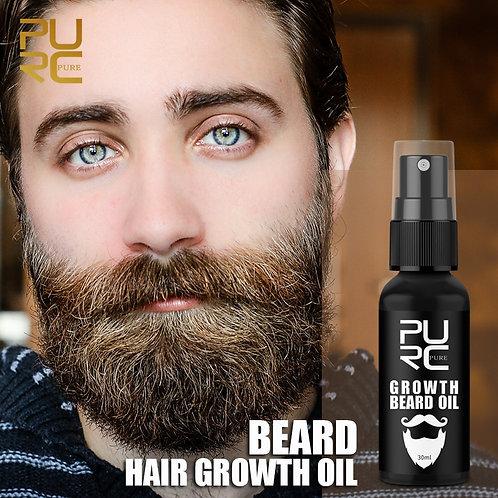 Óleo de Crescimento da Barba Anti Queda