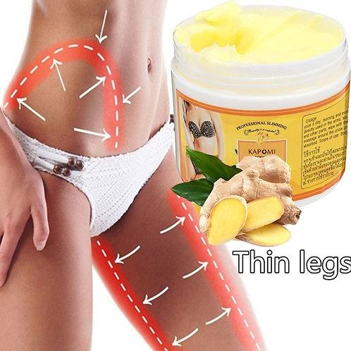 Creme Natural de Redução de Gordura Corporal de Gengibre 50g