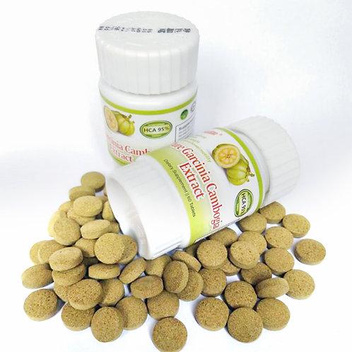 Extratos Orgânicos de Garcinia do Camboja  Reduz Apetite a Gordura